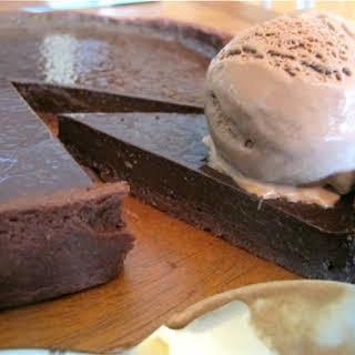 Double Chocolate Tart.