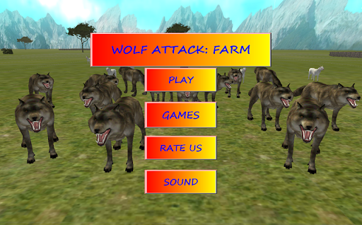 【免費冒險App】狼攻擊:農場-APP點子