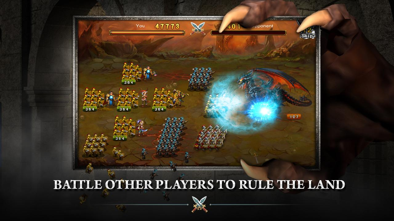Runes of War- screenshot