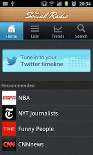 The Social Radio for Twitter- screenshot thumbnail