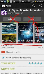 ★ Signal Booster for Android ★ - screenshot thumbnail