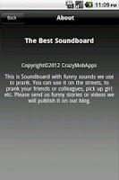Screenshot of Best Soundboard