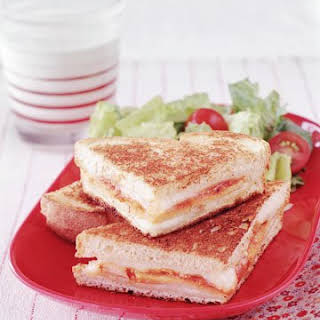 Grilled Turkey Parmesan Sandwich.