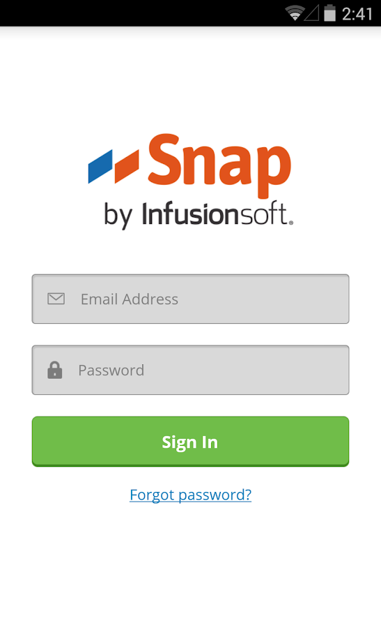 Snap by Infusionsoft- screenshot