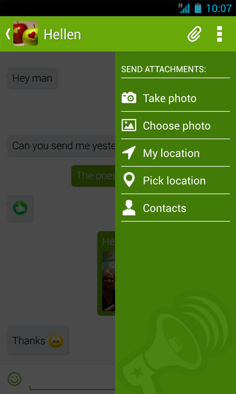 Piip Messenger - screenshot