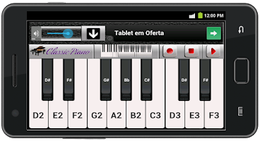 Screenshot of Grand Piano