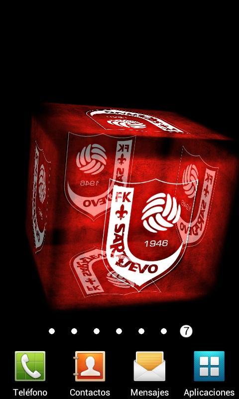 3D Sarajevo Live Wallpaper - screenshot
