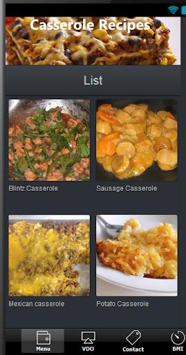 簡単にキャセロールのレシピ