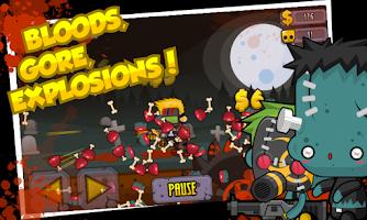 Screenshot of Shotgun vs Zombies