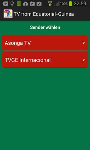 TV from Equatorial-Guinea