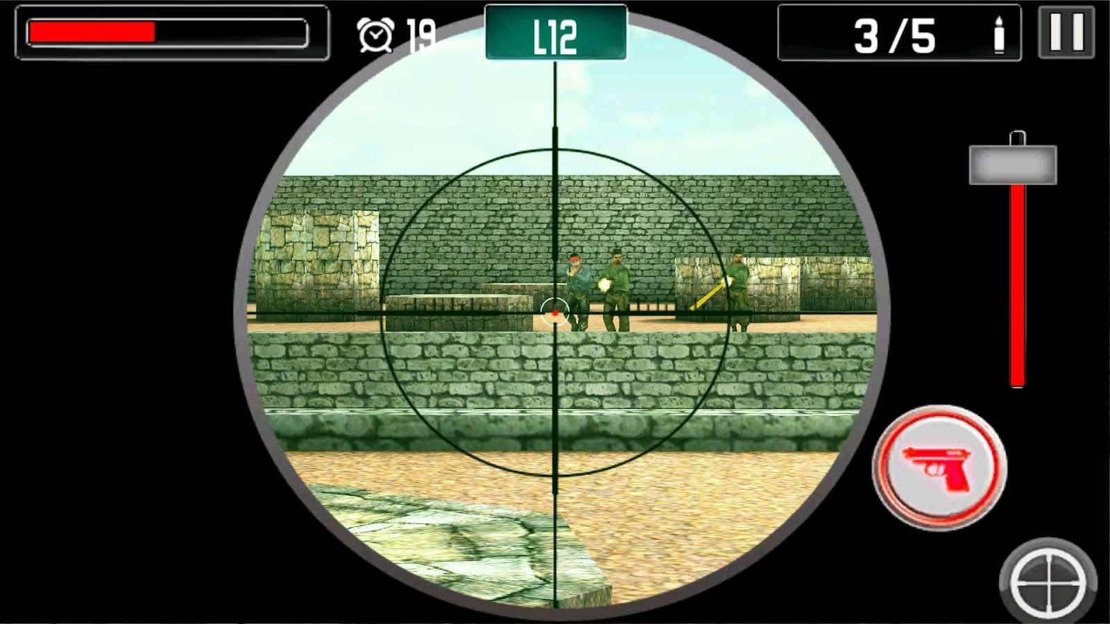 Screenshots of Gun Shoot War for iPhone