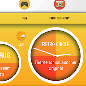 Retro Circle for ssLauncher OR