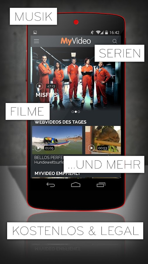 MyVideo: Musik, Filme & Serien- screenshot