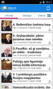 Lietuva Naujienos- screenshot thumbnail