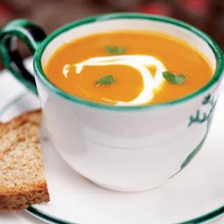 Carrot Habanero Soup.