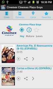 Cine Mapp (Carteleras) - screenshot thumbnail