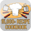 15,000+ Recipe Cookbook icon