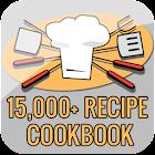 15,000+ Recipe Cookbook icon