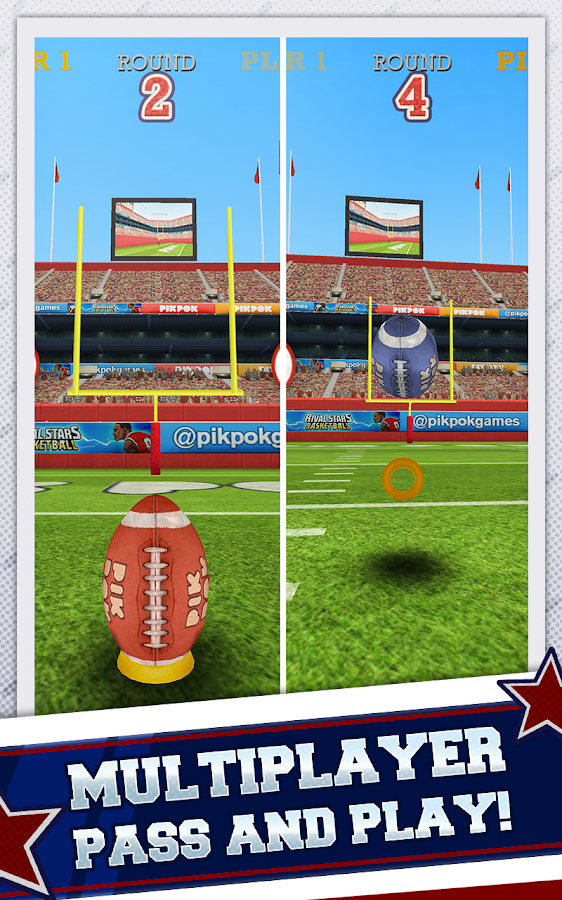 Flick Kick Field Goal Kickoff- screenshot