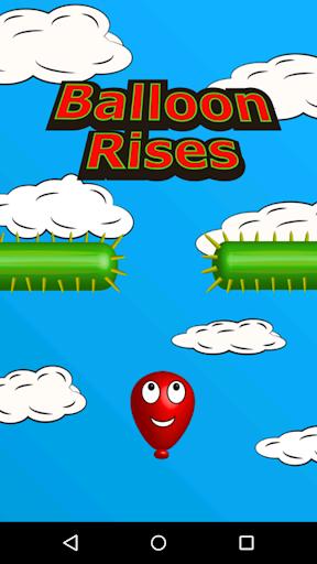 Balloon Rises