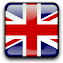 UK Flag Analog Clock Widget icon
