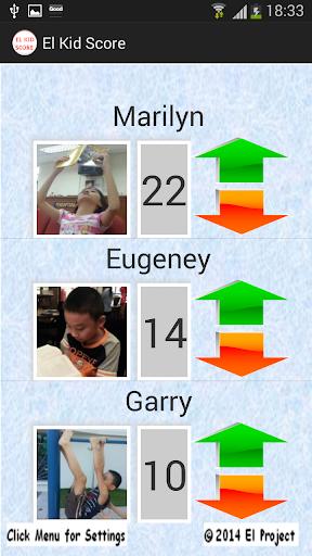 Kids Score Tracker
