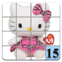 15 puzzle Hello Kitty icon