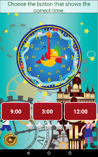 Telling Time - Learning Time- screenshot thumbnail