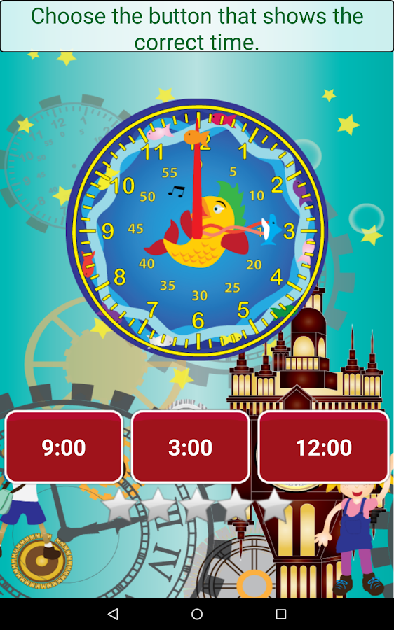 Telling Time - Learning Time- screenshot