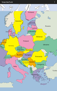puzzle map europe