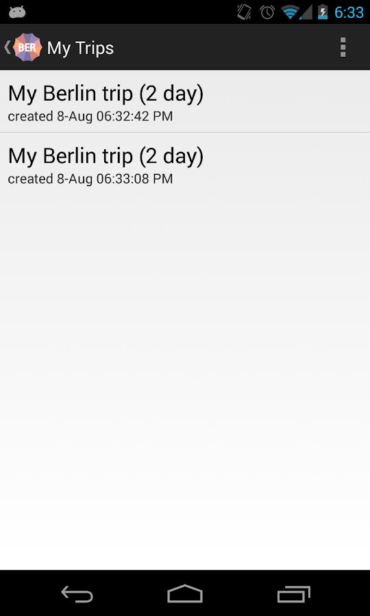 Holidayen Berlin - screenshot
