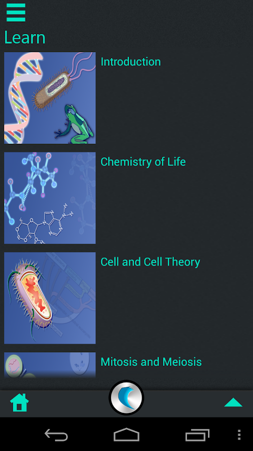 Biology by WAGmob - screenshot