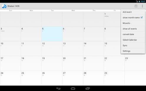 Download Android App Hijri Calendar for Samsung | Android