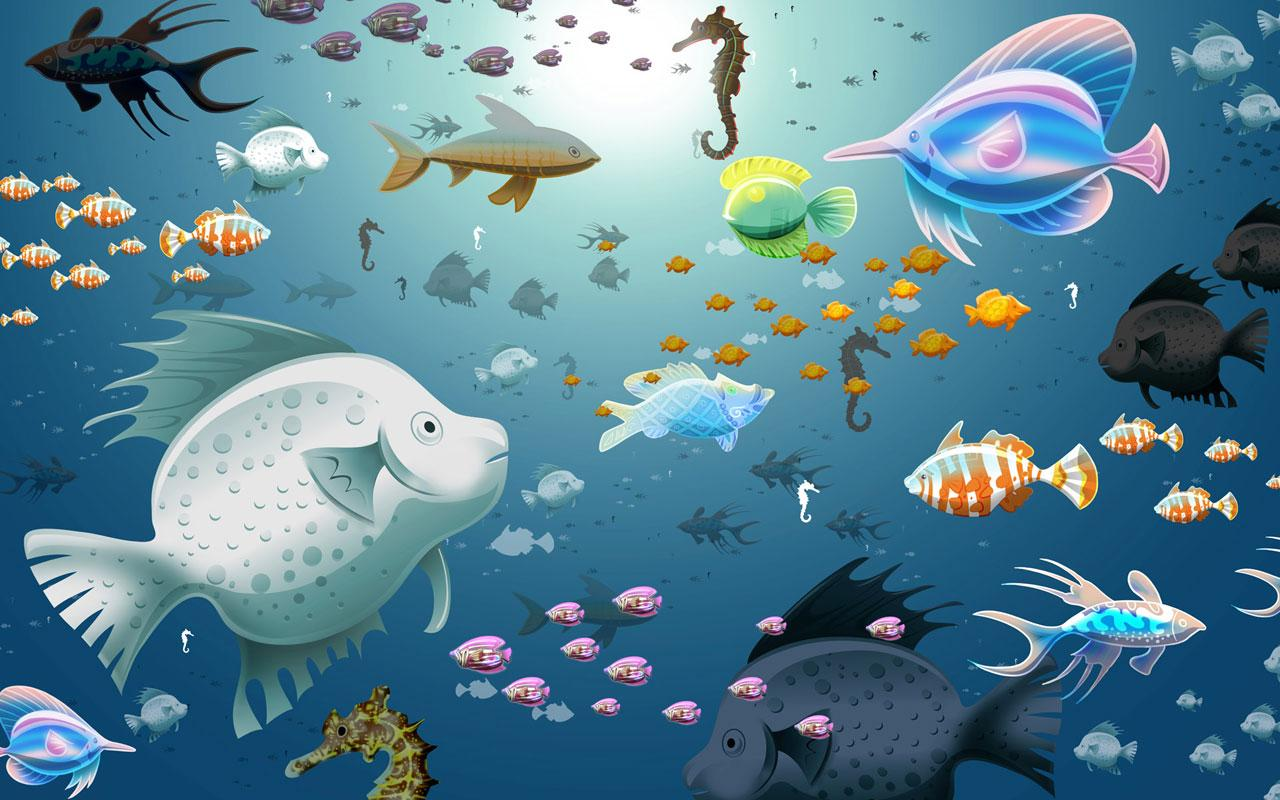 Aquarium live wallpapers android apps on google play for Fish wallpaper live