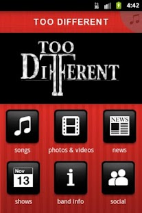 TOO DIFFERENT - screenshot thumbnail