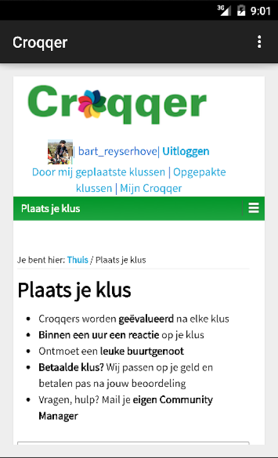 Croqqer- screenshot