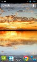 Screenshot of Sunset Lake Live Wallpaper