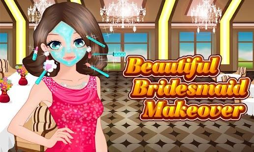 Beautiful Bridesmaid Makeover