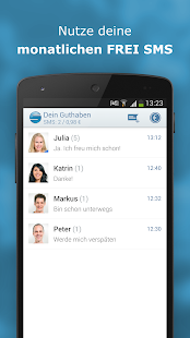 sms.at mobile - SMS App - screenshot thumbnail