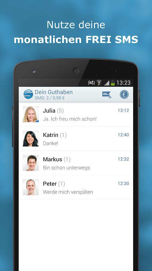 sms.at mobile - gratis SMS- screenshot