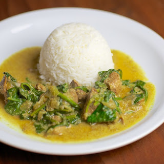 Indian Lamb and Spinach Curry