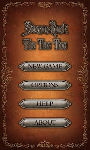 Steampunk Tic Tac Toe- screenshot thumbnail
