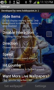 Lord SHIVA HQ Live Wallpaper- screenshot thumbnail