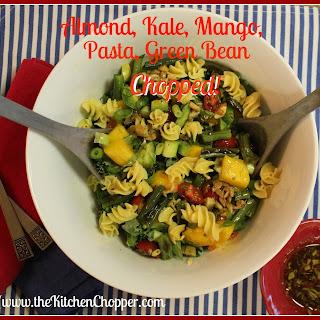 Almond, Kale, Mango, Quinoa, Green Bean Chopped