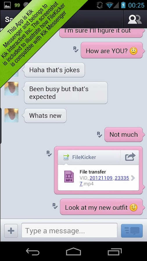 FileKicker- screenshot