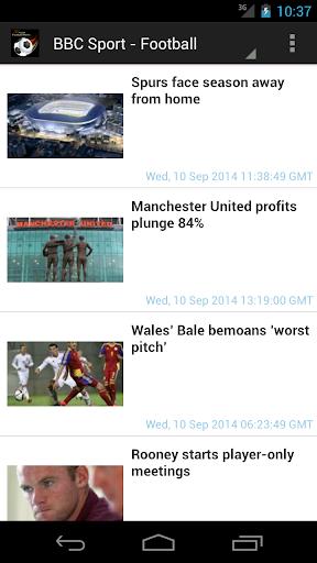 Easy RSS Football News Goal