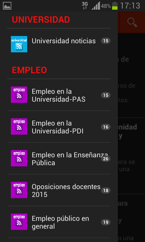 tu App de FECCOOEX- screenshot