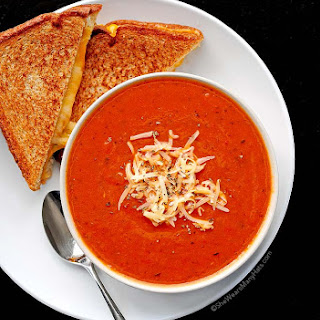 Quick and Easy Tomato Soup.