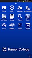 Screenshot of Harper College