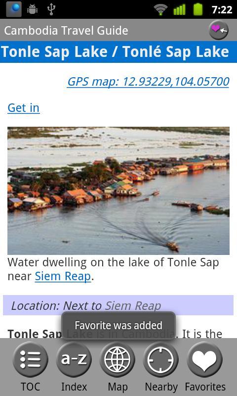 Cambodia - FREE Travel Guide- screenshot
